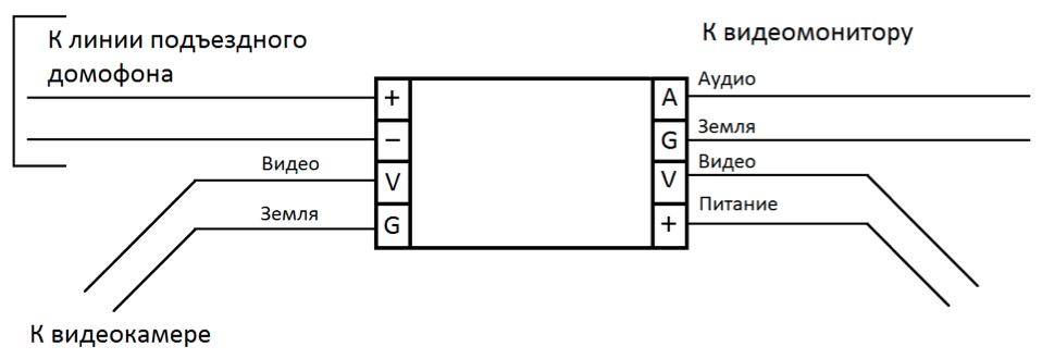 Vz-10 схема подключения